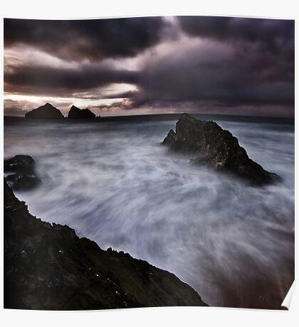 Land Sea Sky V Poster