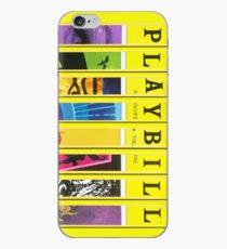 Custom Broadway Playbill Framed Art Collage iPhone Case