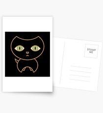 Black Cat Kai Postcards