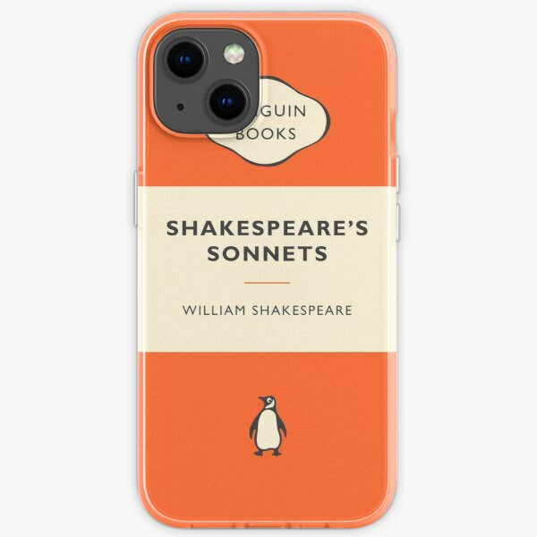 Penguin Book Shakespeare's Sonnets iPhone Soft Case
