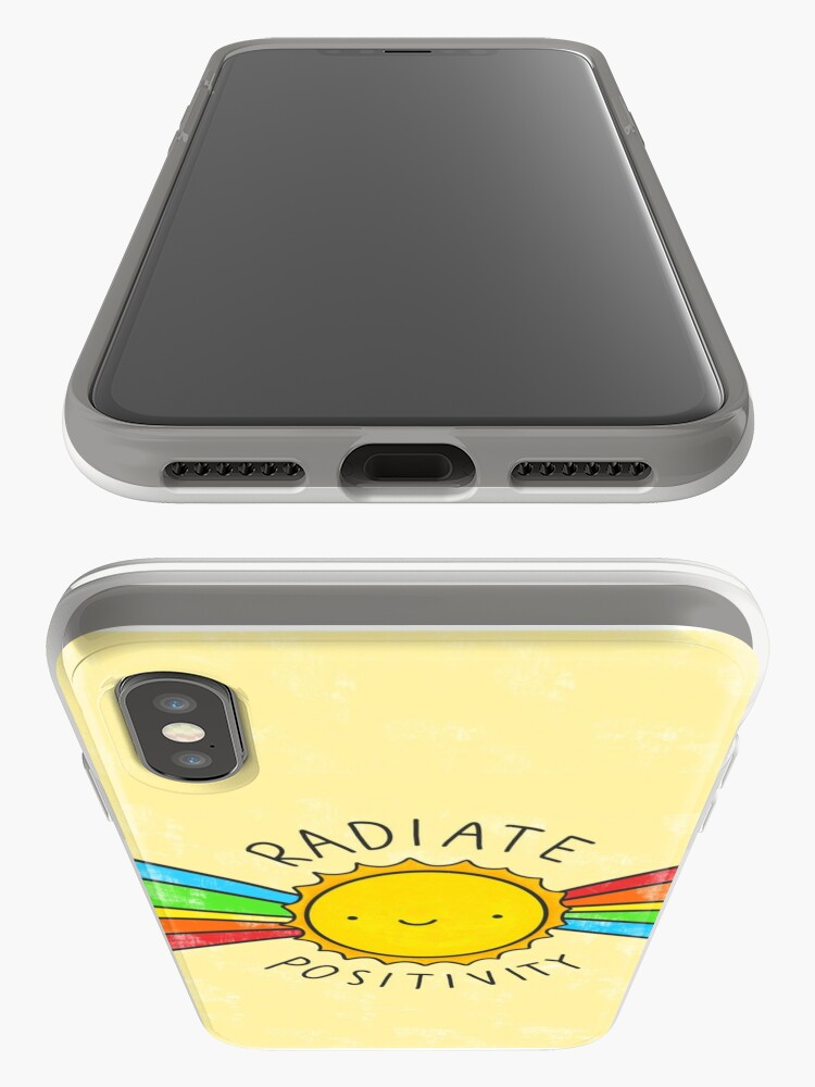 Alternate view of Radiate Positivity iPhone Case & Cover