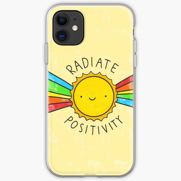 Radiate Positivity iPhone Soft Case
