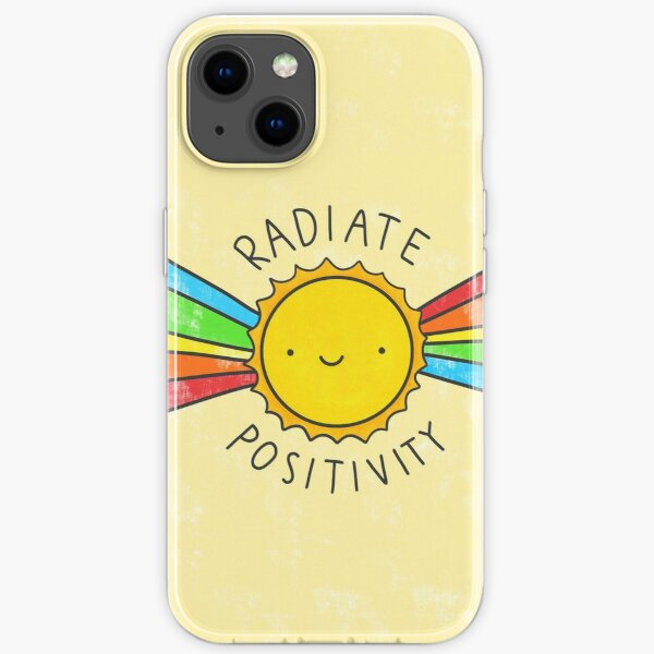 Radiate Positivity iPhone Soft Case