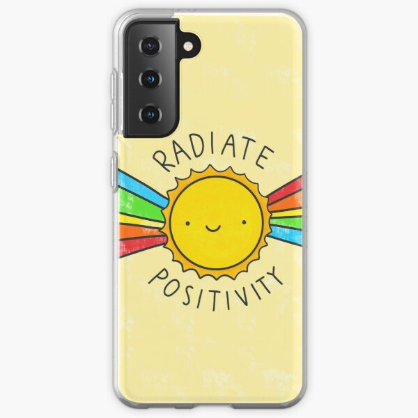 Radiate Positivity Samsung Galaxy Soft Case