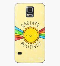 Radiate Positivity Case/Skin for Samsung Galaxy