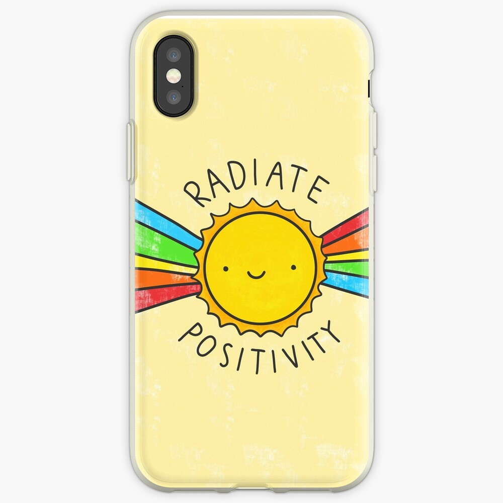 Radiate Positivity iPhone Case & Cover