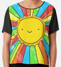 Radiate Positivity Chiffon Top