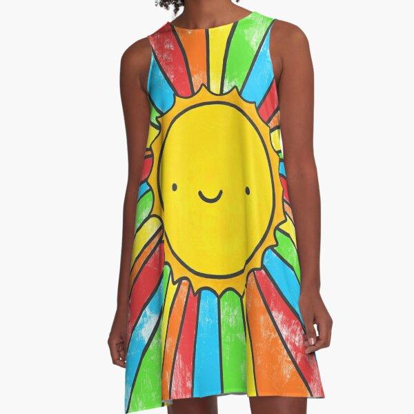 Radiate Positivity A-Line Dress