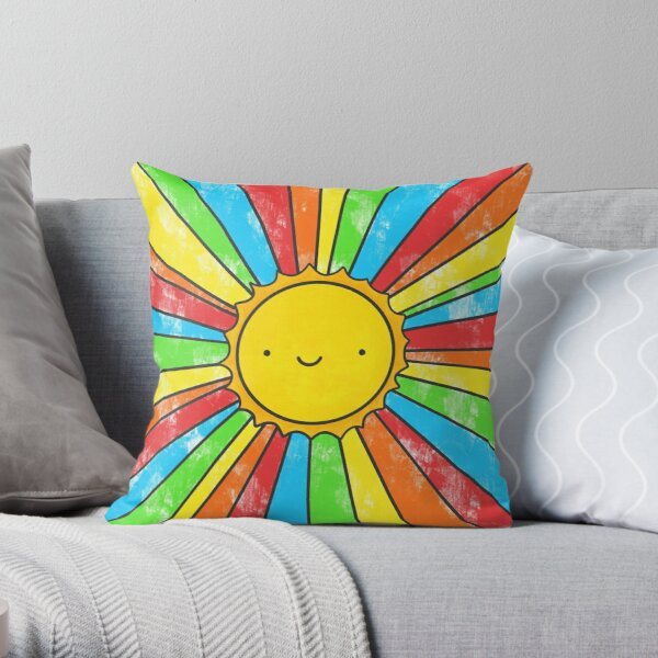 Radiate Positivity Throw Pillow
