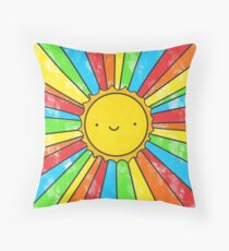 Radiate Positivity Throw Pillow