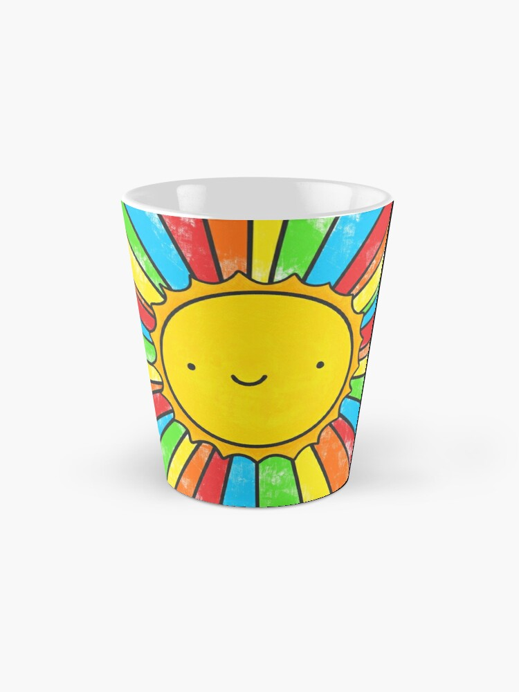 Alternate view of Radiate Positivity Mug
