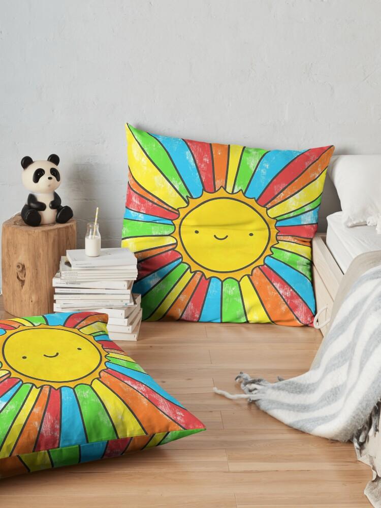 Alternate view of Radiate Positivity Floor Pillow