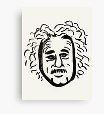 Abstract Einstein. Canvas Print