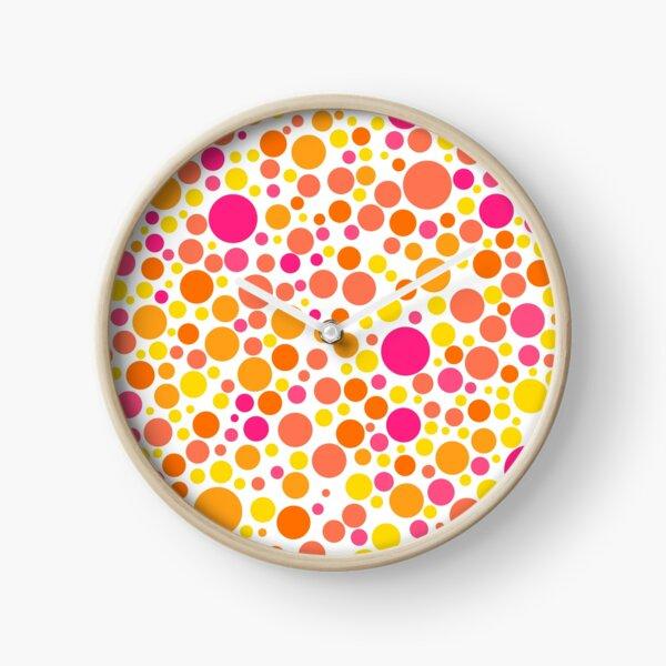 Colorful Bubble Party 1 Clock