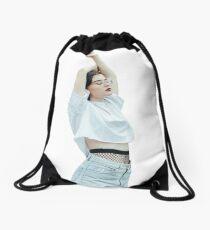 Beautiful Lady Drawstring Bag