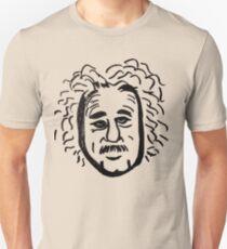 Abstract Einstein. Unisex T-Shirt