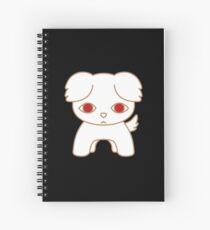 White Dog Rei Spiral Notebook