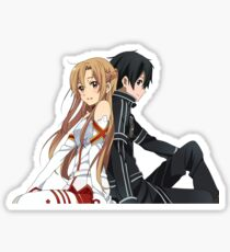 Asuna and Kirito Sticker