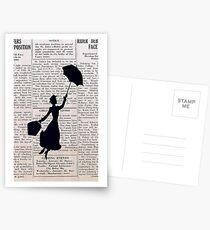 Postales Mary Poppins Vintage