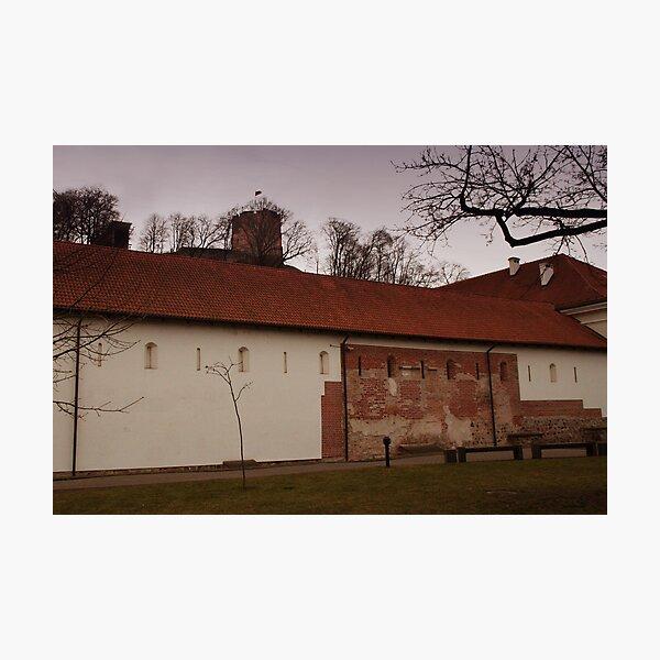 Vilnius Castle ensemble Photographic Print