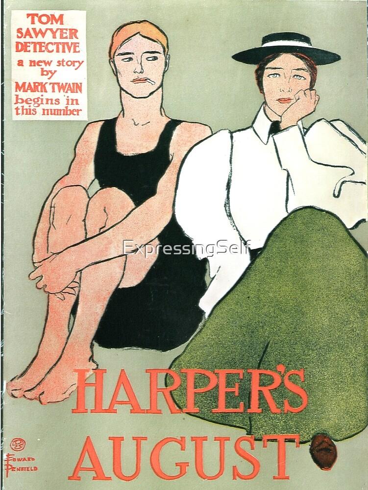 Mark Twain and Harper's by ExpressingSelf