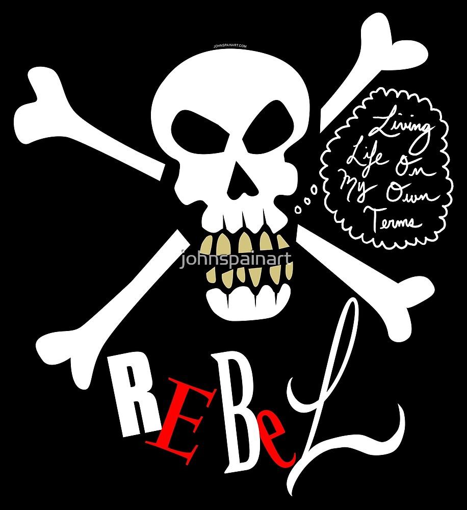 """Rebel"" (1.0) by johnspainart"