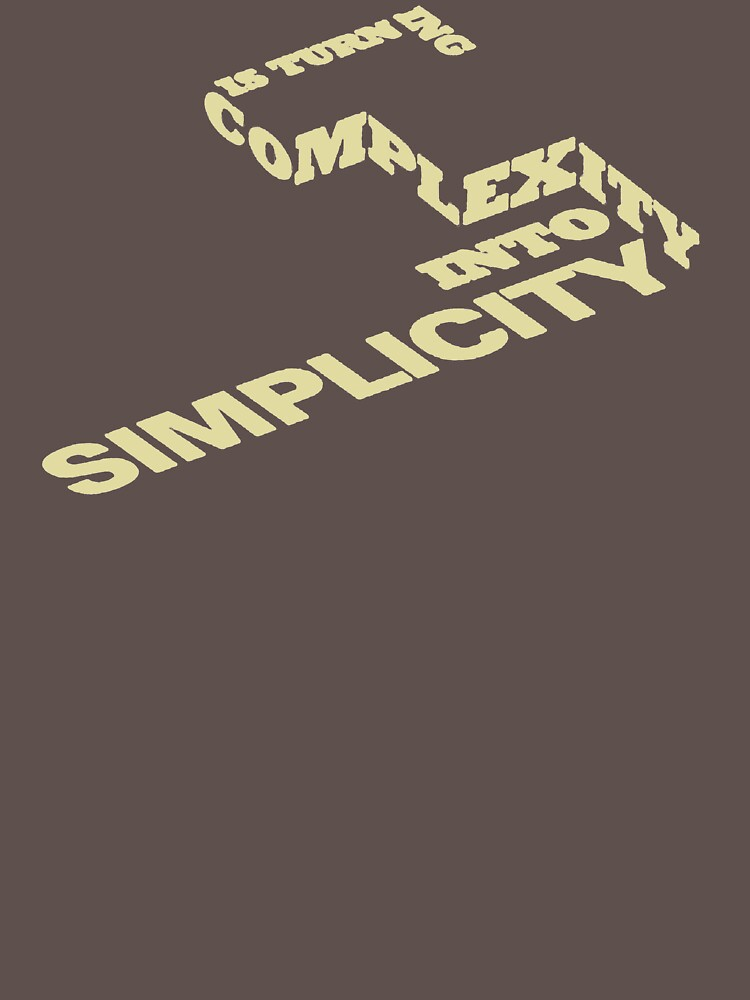 Is Turn Ing Complexity Into Simplicity YA389 New Product by Anywalks