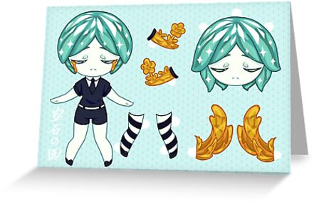 Paper doll Phos by Puriimochi