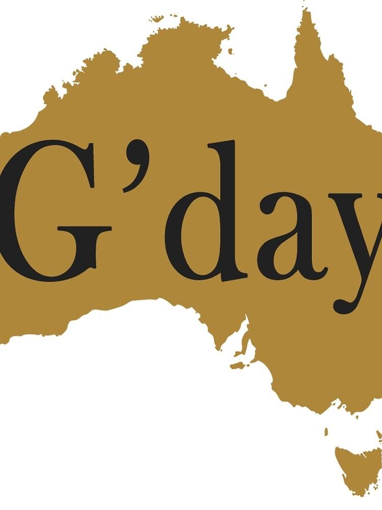 G'day Happy Australia Day by Jocker