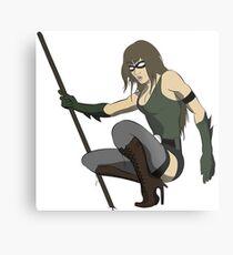 Super Hero Woman Metal Print