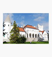 Old white castle serbia europe Photographic Print