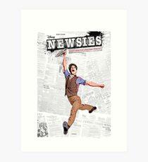 Newsies Broadway Musical Art Print