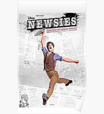 Newsies Broadway Musical Poster