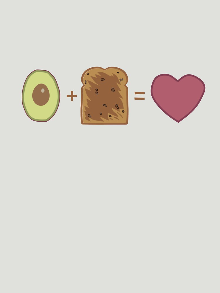 Avocado Toast Love by wondrous