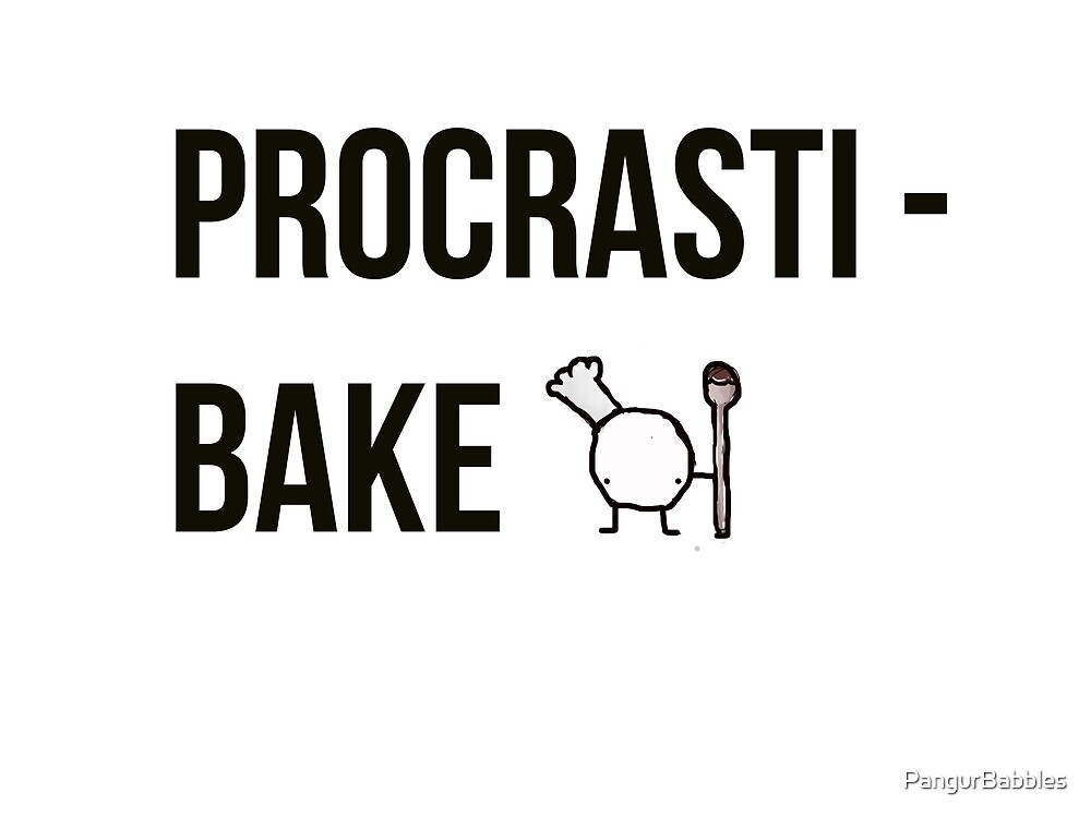 Procrastibake by PangurBabbles