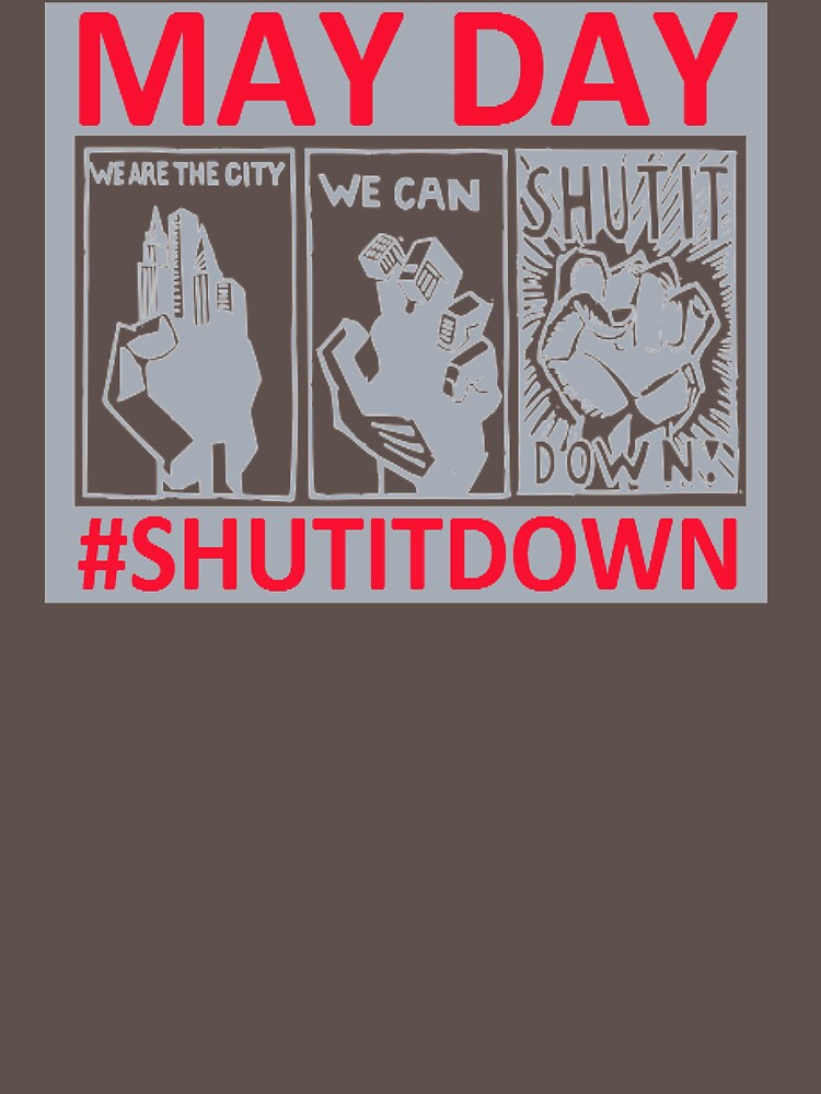 May Day #shutitdown EY543 Trending by Diniansia