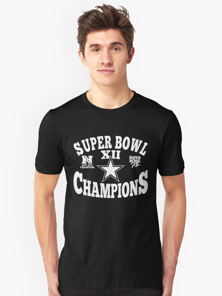 Super Bowl Champions Cool American Football t shirt Unisex T-Shirt Front