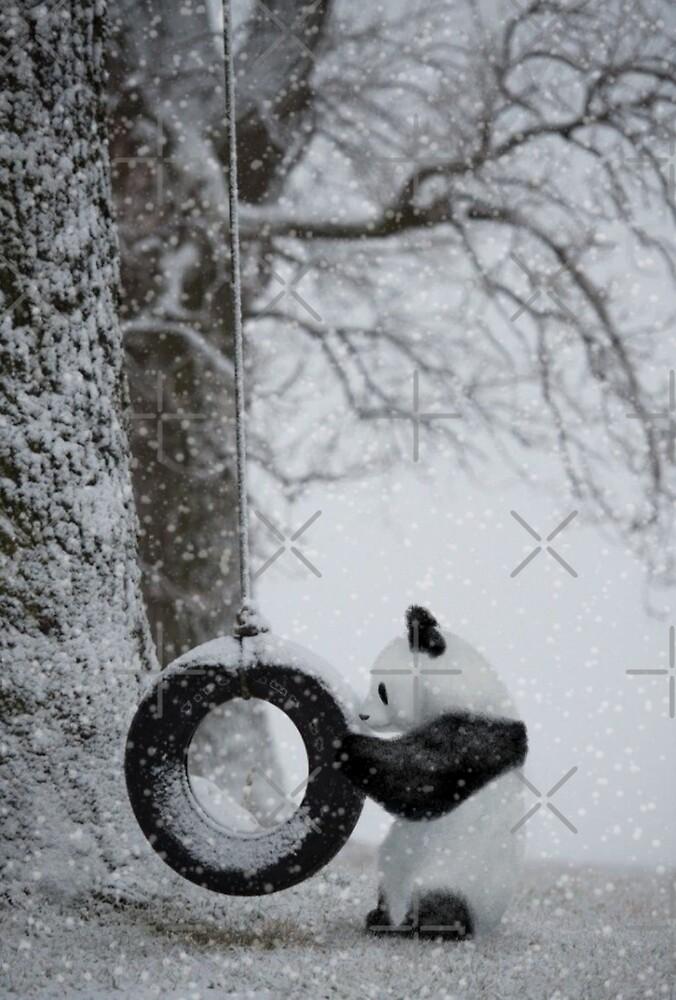 Playing in the snow by Emmadrawspanda