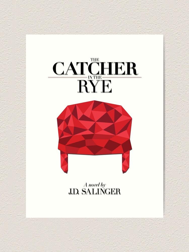 The Catcher in the Rye J Salinger Poster D Salinger Print Holden Caulfield