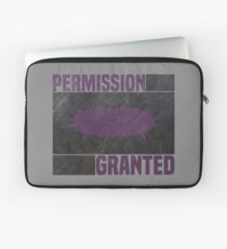 Halo 2 permission granted. Laptop Sleeve