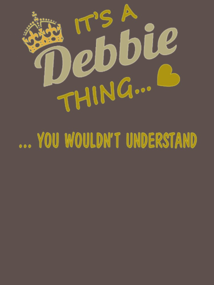 It's A Debbie Thing LD575 New Product by Anywalks