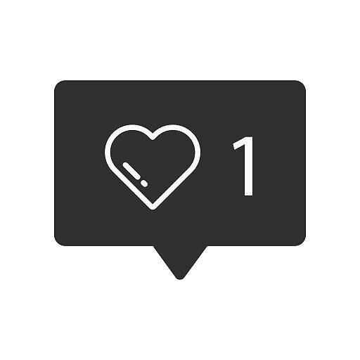 Instagram heart like - Social Network by kleversonk