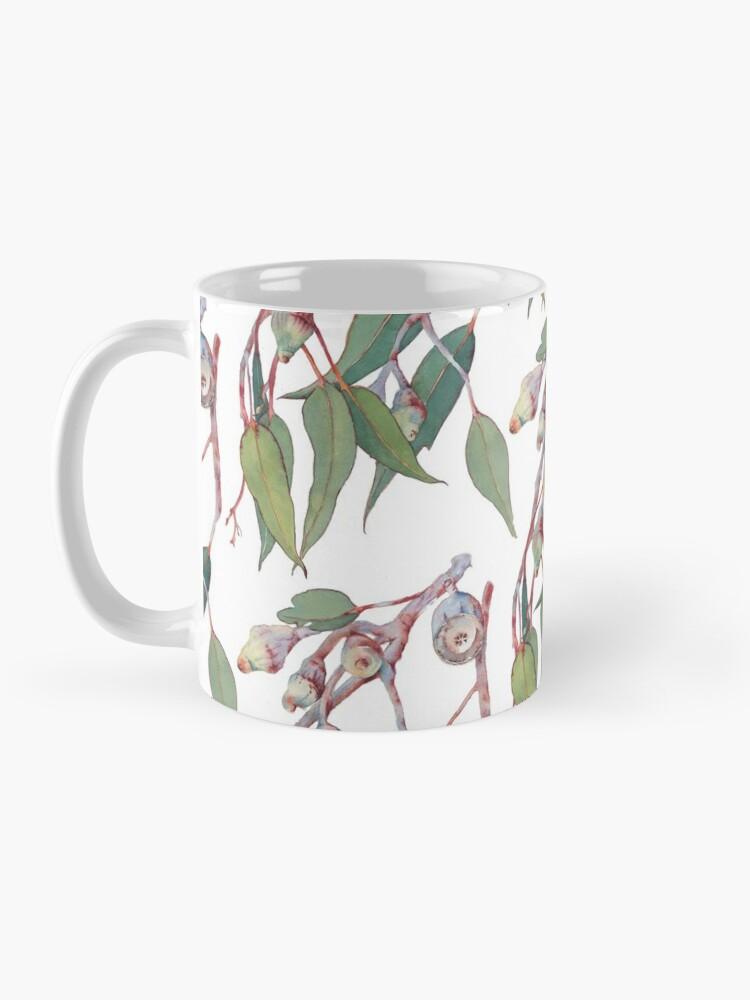 Alternate view of Australian native eucalyptus tree branch Mug