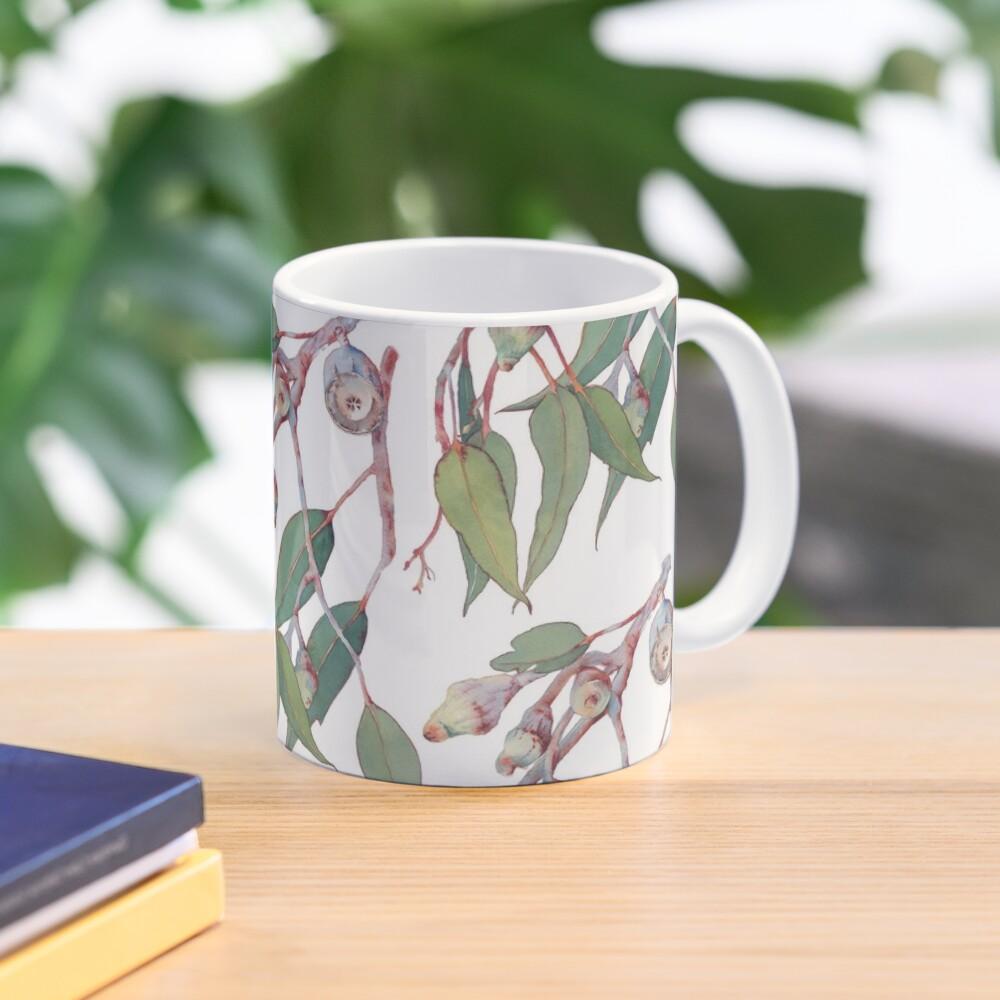 Australian native eucalyptus tree branch Mug