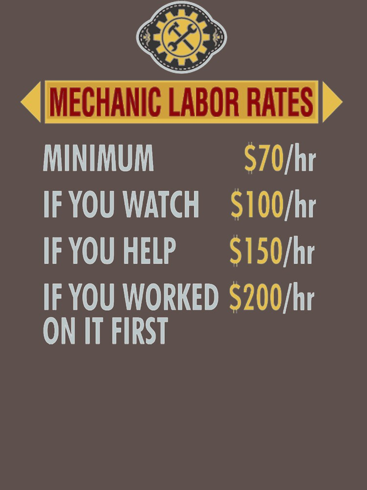 Mechanic Labor Rates II328 Trending by Diniansia