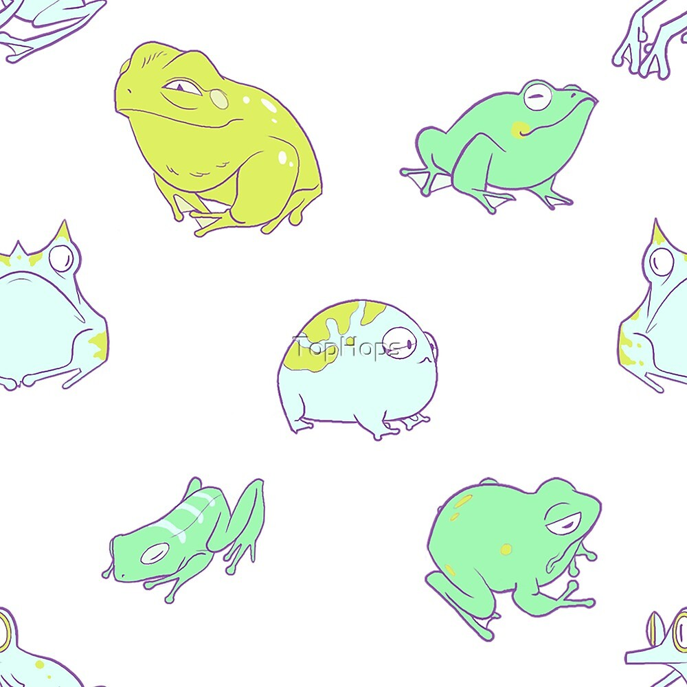 Frogs on Parade by TopHops