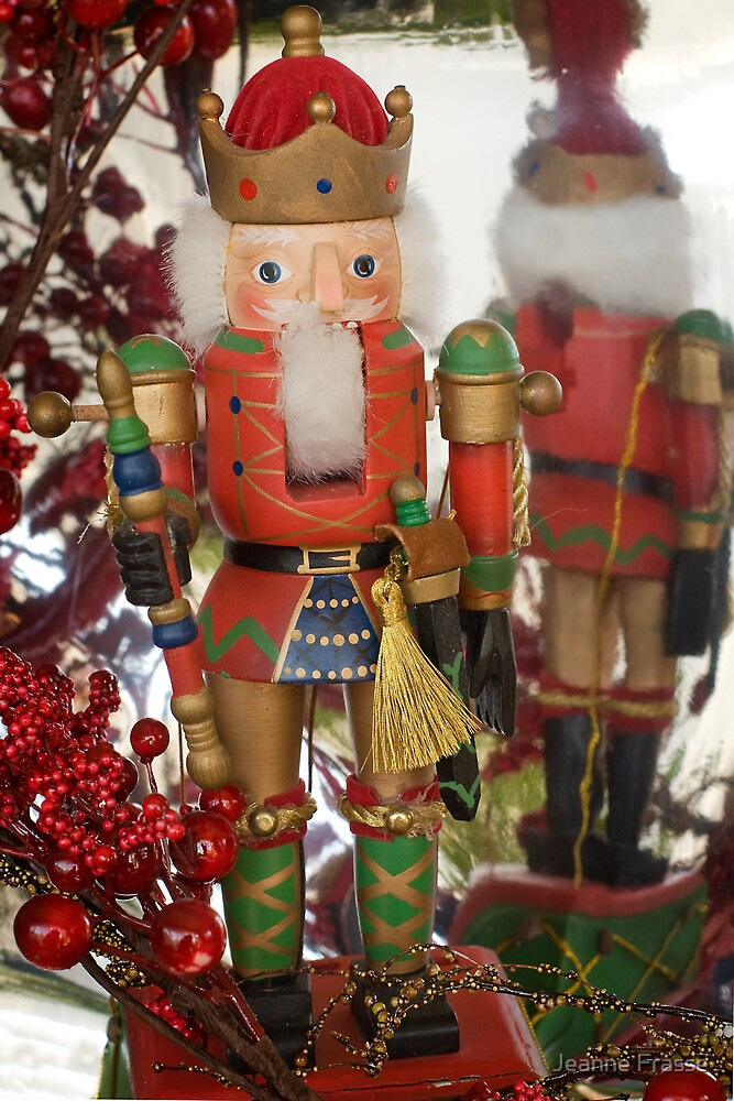 Christmas Nutcracker by Jeanne Frasse