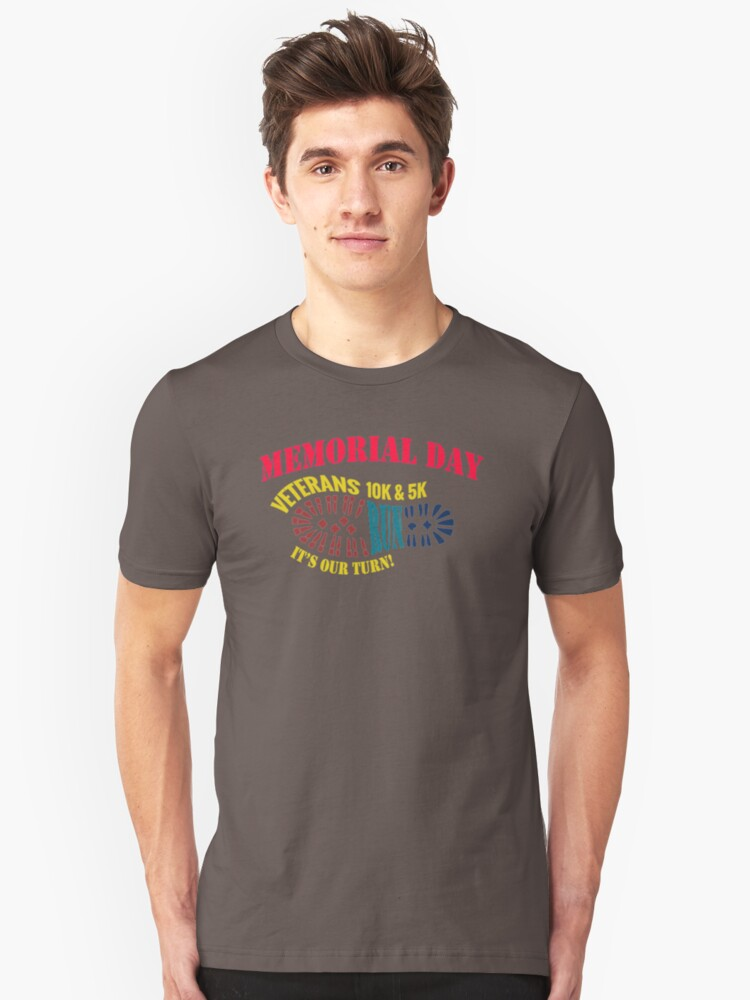 Memorial Day Monday May QH157 Trending Unisex T-Shirt Front