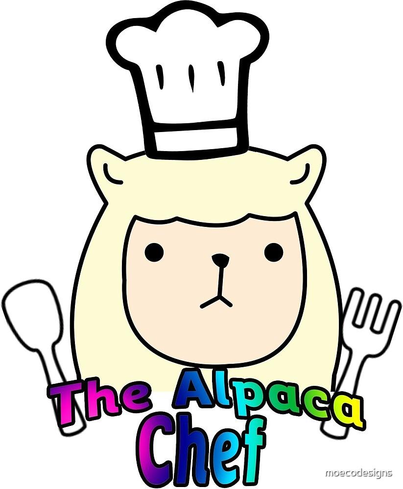 Alpaca Chef by moecodesigns
