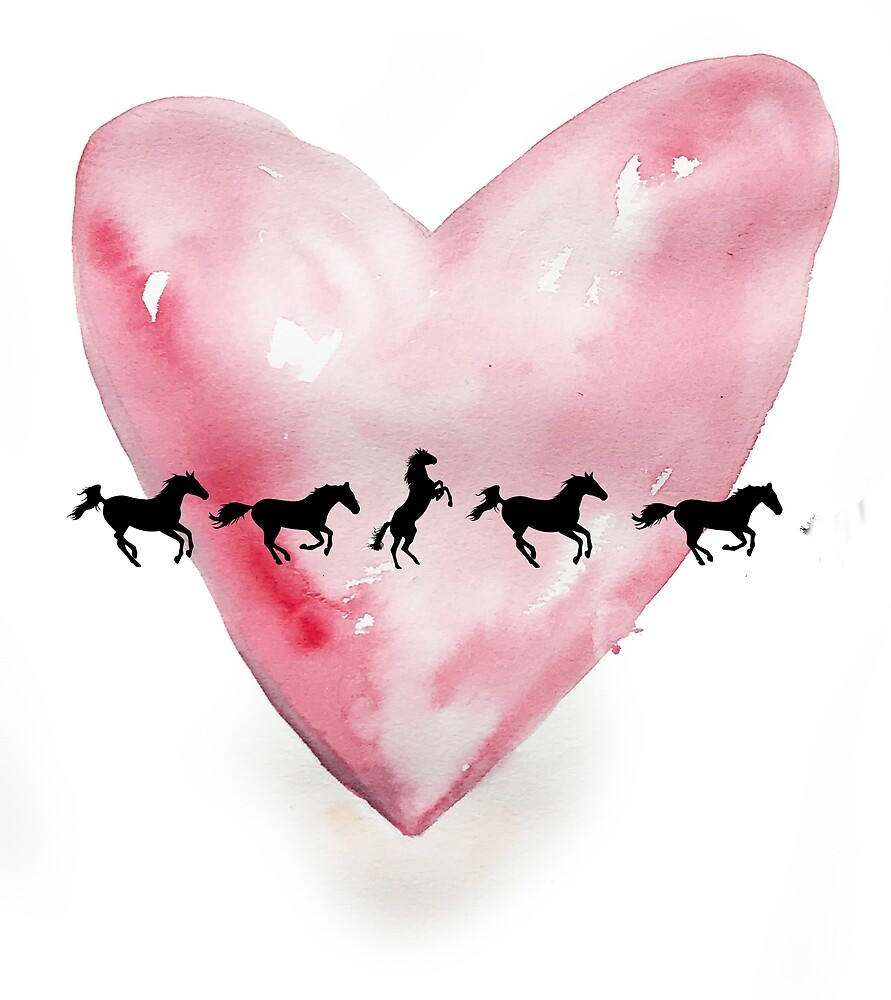 My heart for horses by Bethanyys